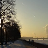 Мороз и солнце...в Питере :: LORRA ***