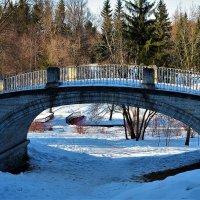 Пешеходный мостик... :: Sergey Gordoff