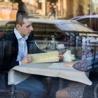 Свидание в кафе :: Анастасия Брязгунова