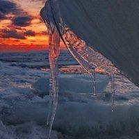 лед на закате :: Ingwar