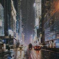 Дождь в городе :: Александр Табаков