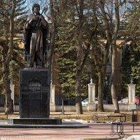 Памятник святому праведному Лаврентию Калужскому :: Анатолий Сидоренков
