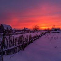 Рассвет,похожий на закат. :: Дмитрий Постников