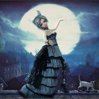Кошка, гуляющая сама по себе :: Алиса Колмагорова