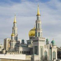 Московская соборная мечеть :: Юрий Бичеров
