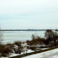 Канатная дорога через Волгу :: Надежда