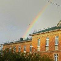 Радуга в конце  сентября 2016 г. :: Фотогруппа Весна.