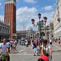 Венеция. Площадь Св. Марка :: Валерий Подорожный