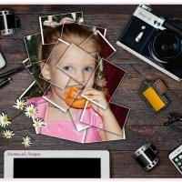 Захламлённый стол с фотографиями. (фотографический пазл). :: Anatol Livtsov