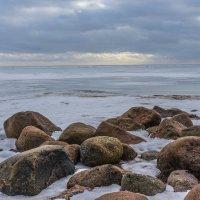 Закат на Финском заливе :: Юрий Зима