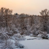 Зимний пейзаж :: Владимир Лазарев