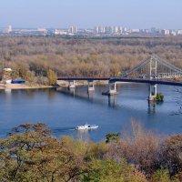 Киев. Вид с Владимирской горки. :: Валентина Данилова