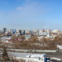 Барнаул с нагорного парка :: Николай Мальцев