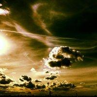 Небо над Москвой :: Karolina