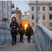 вечерний Львиный мост :: sv.kaschuk
