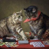 Карты, деньги, два ствола :: Ирина Приходько