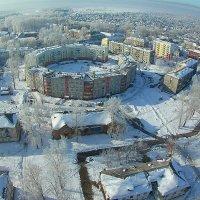 Новокузнецк с высоты :: Юрий Лобачев