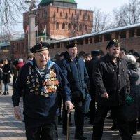 Пётр Николаевич Курицын - моряк-подводник. 97!!!, а он в строю!!! :: Фёдор Куракин