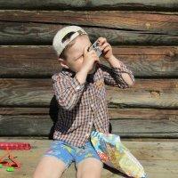 Маленький фотограф 2 :: Vladimir Perminoff