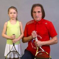 Детский теннис и мода! Заури Абуладзе :: Заури Абуладзе