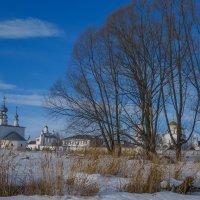 Петропавловская церковь и Покровский монастырь :: Сергей Цветков