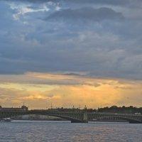 закат над Невой :: Елена
