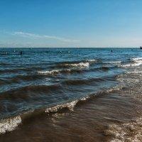 Пляж в Аркашоне :: Надежда Лаптева