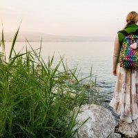 Вечер на берегу Галилейского моря. :: Андрей Самсонов