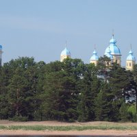 Коневской Рождество-Богородичный монастырь :: Елена Павлова (Смолова)
