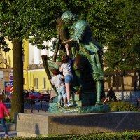 Пётр I и дети... :: Sergey Gordoff