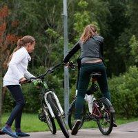 Велосипедистки :: М. Дерксен Derksen