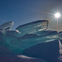 Голубой лед :: Ирина Бруй