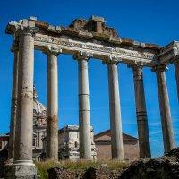 Храм Сатурна на Римском Форуме :: Елена Митряйкина