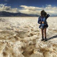 Женщина и пустыня :: svabboy photo