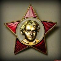 И Ленин был когда-то маленький, с кудрявой головой... :: Андрей Заломленков