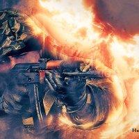 И один в поле воин, если он по-русски скроен! :: Виктор Никаноров