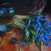 """""""Весны приход"""". (Картина написана пастельными мелками). :: Лара Гамильтон"""