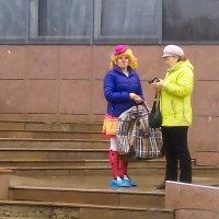 шел по улице однажды, грустный клоун.... :: Александр Беляков
