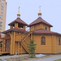 Москва. Церковь Иоанна Кронштадтского в Черёмушках. :: Александр Качалин