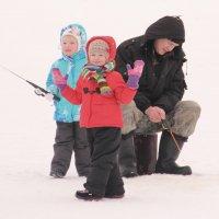 На рыбалке.... :: Александр Широнин