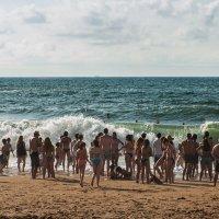 Биарриц. Пляж. :: Надежда Лаптева