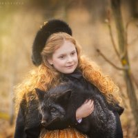 Лиза и лис :: Ярослава Бакуняева