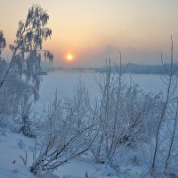 Холодный закат :: Екатерина Торганская