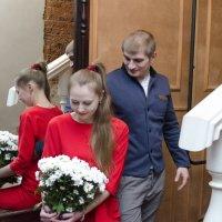 Я на тебя а ты на цветы :: Виктория Большагина