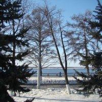 На набережной в марте... :: марина ковшова