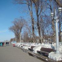 Набережная в марте :: марина ковшова