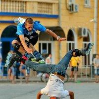 Точный прыжок :: Анатолий Шулков