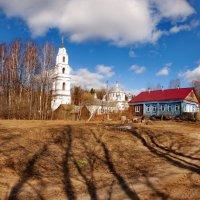 Троицкий храм в селе Эрлекс :: Валерий Толмачев