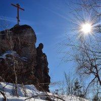 Гора Крестовая. Вершина. :: Дмитрий Печенкин