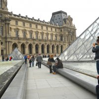 dans Paris... Лувр :: Galina ✋ ✋✋